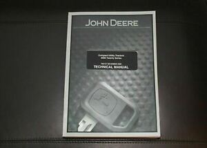 John Deere 4320 4520 4720 4120 Compact Without Cab Tractor Service Manual Tm2137