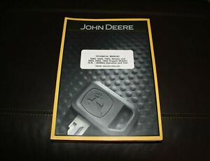 John Deere 540g 640g 740g 548g Skidder Service Operation Test Manual Tm1599