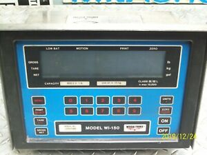 Weigh tronix Wi 150 Weight Indicator