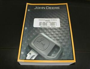 John Deere 640l 648l 748l Skidder Service Operation Test Manual Tm13135x19