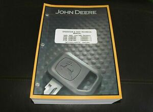 John Deere 640l 648l 748l Skidder Service Operation Test Manual Tm13133x19
