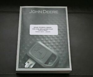 John Deere 625d 630d 635d 640d Draper Repair Service Manual Tm103919