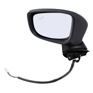 Power Mirror Fits 2014 2016 Mazda Mazda3 Japan Driver Side Blind Spot Detection