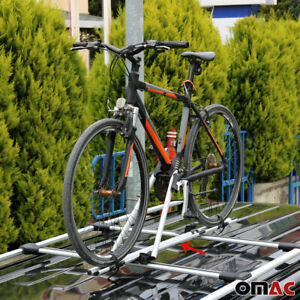 Roof Bike Bicycle Carrier Rack Mount Alu Silver For Bmw X5 E70 2007 2013