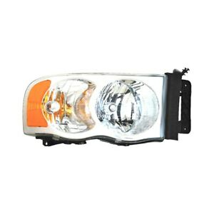 For Dodge Ram 1500 02 04 Pacific Best Passenger Side Replacement Headlight