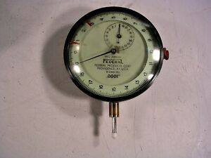 Federal Products Dial Indicator Gauge Model E3bs r1