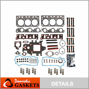 Head Gasket Set Lifters Fit 96 05 Buick Pontiac Chevrolet Gm Supercharged 3 8