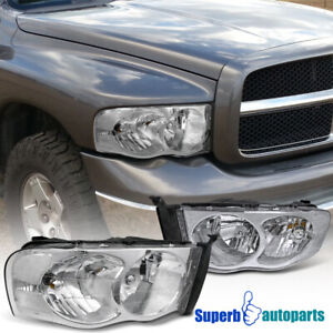 For 2002 2005 Dodge Ram 1500 2500 Headlight Head Lamps
