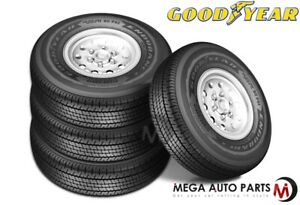4 Goodyear Endurance St235 80r16 123n E Auto boat travel Trailer Hauler St Tires
