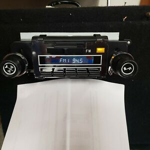 1971 72 Chevelle Reproduction Am Fm Radio With Blue Tooth Connection