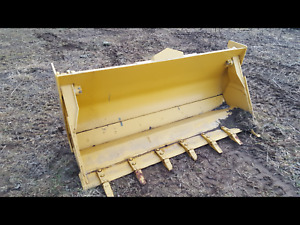 John Deere 86 Multi purpose 4 in 1 Backhoe Bucket At308089