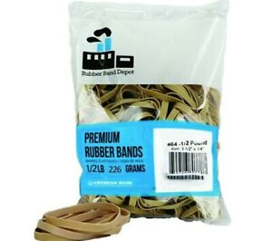 Rubber Band Depot Size 64 3 1 2 X 1 4 1 2 Pound Bag Made In Usa