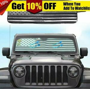 Windshield Sun Sun Visor Shade Aluminum Foil Sunshade For Jeep Wrangler Jl 2018