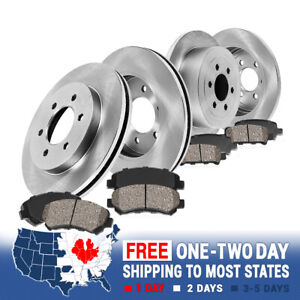 For 2006 2007 2008 2009 2010 Hummer H3 H3t Front And Rear Rotors