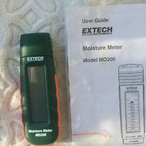 Extech Mo200 Pocket Size Moisture Meter W booklet Extra Pins