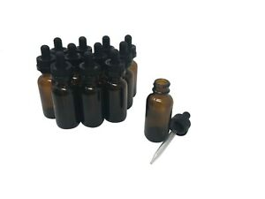1 Oz 30 Ml Amber Glass Bottles With Child Resistant Crc Droppers