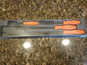 Brand New Rare Snap On Spbs704o Orange Hard Handle 4pc Spbs704