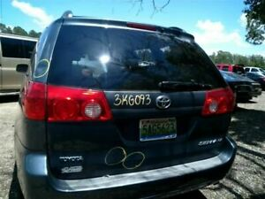Trunk hatch tailgate Without Spoiler Fits 04 10 Sienna 3113914