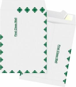 Tyvek 1st Class Envelopes 9 X 12 Tyvek Envelopes Easy peel 10 Each
