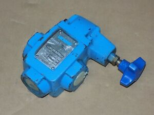 Vickers Ct06b50 Relief Valve Ct 06 B 50 125 1000 Psi Never Used