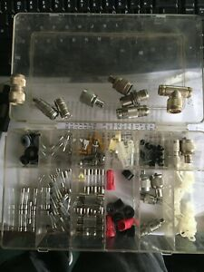 Box Of Amphenol Rf Adapters Connectors And Cable Mounting