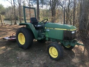 John Deere 870 Diesel Farm Tractor W Free Mower Pto Attachment