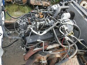 1987 95 Chevy Tbi 350 5 7 4 Bolt Main Crate Engine 50k Miles No Core 10243880