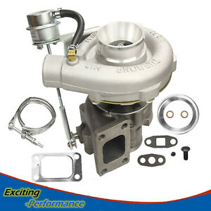 Universal T3 t4 T04e V band Turbocharger Turbo 63 A r 5a r Internal Wastegate