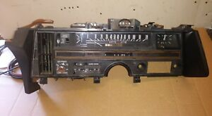 Oem 1969 1970 Cadillac Deville Complete Dash Assembly With Components Shown