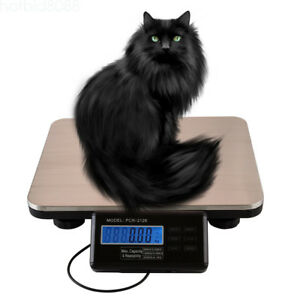 300kg 0 1kg High Precision Digital Lcd Platform Weight Postal Scales Us Stock