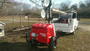 Nice 2017 Generac Magnum Digital Light Tower Generator