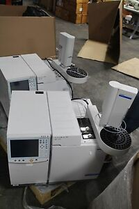 Varian Bruker 450 gc Gas Chromatograph With Cp 8400 Autosampler Working