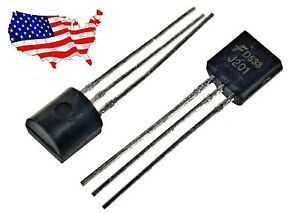 J201 10 Pcs Jfet N channel 50 Ma 40v To 92 Transistor d538 From Usa