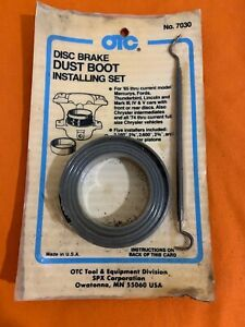 Otc No 7030 Ford Disc Brake Dust Boot Installing Tool New In Orig Package