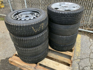 Mini Cooper Oem Wheels Kumho Run Flats Blizzak Winter Tires Wheels Used