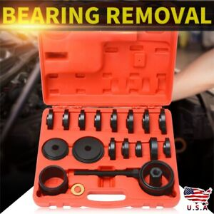 23pcs Front Wheel Hub Drive Bearing Removal Install Service Tool Set Hot Sale