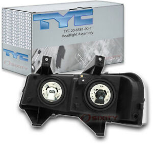 Tyc 20 6581 00 1 Headlight Assembly For General Motors 15879432 Yj