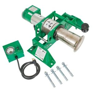 Greenlee 6800 Ultra Tugger 8 Cable Puller With Floor Mount 8000 Lb