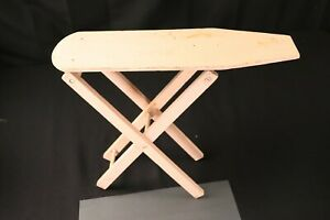 Vtg Antique Children S Wood Folding Ironing Board Nostalgic Primitive