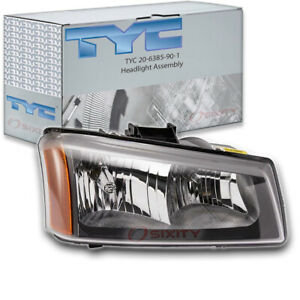Tyc 20 6385 90 1 Headlight Assembly For General Motors 10396912 Np