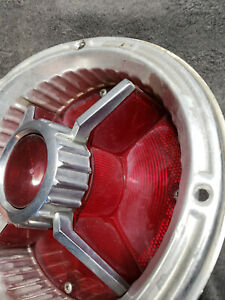 1965 Ford Ranchero Wagon Tail Light Bucket Assembly With Lens Sae Tsdb 64 Fn
