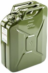 Quality Jerry Can Green Metal 20 Litre