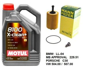 Engine Motor Oil Change Kit For Vw 2 0 Tdi Diesel 507 00 cbea Cjaa