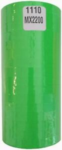 1110 Fluorescent Green Labels For Monarch 1110 Or Motex Mx 2200 2 Size Lots