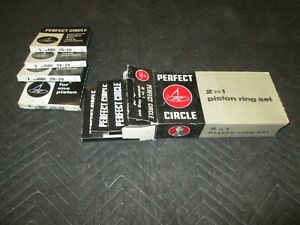 Perfect Circle 40801 Std 010 Engine Piston Rings File Fit Ihc 56 82 392 401