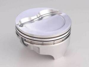 Ford Fits 302 Keith Black Piston Set Mustang Dome
