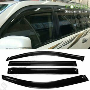 For 2008 2013 Toyota Highlander Window Visors Rain Guard Vent Shade Deflector X4