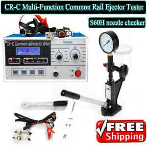 600 Bar Combination Cr C Diesel Common Rail Injector Tester S60h 60 Mpa Us