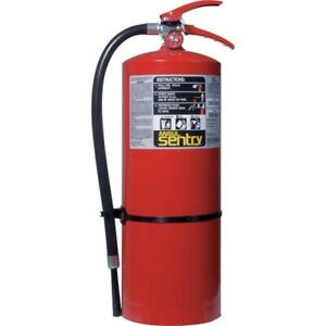 Ansul Sentry 20 Lb Abc Fire Extinguisher W Wall Hook 434747 1 Each