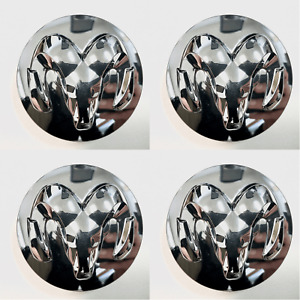 Set Of 4 Oem Chrome Center Caps For 2014 2019 Ram 1500 1lb72trmab